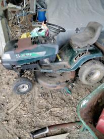 Ride on mower haytor 30/13