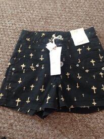 Shorts size 6