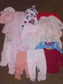 Baby Girl bundle 0-3 months