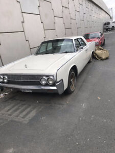 ** 1963 Lincoln Continental  with suicide doors