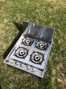 RV DOUBLE SINK/TAP AND GAS COOKTOP