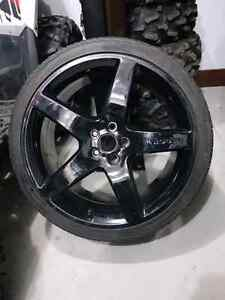 "05+ 20"" Roush Performance rims mounted on Cooper tires"