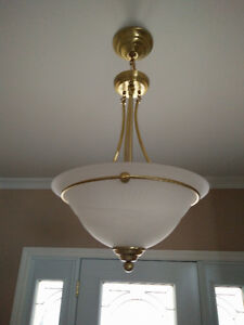 Gold ceiling light fixtures Cornwall Ontario image 3