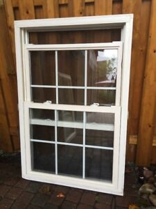 vinyl double-hung windows, ideal for home or cottage rework