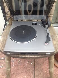 Sony ps-j20 turntable deck
