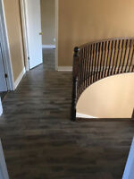 laminate$0.99,vinyl click,engineered baseboards and showmolds
