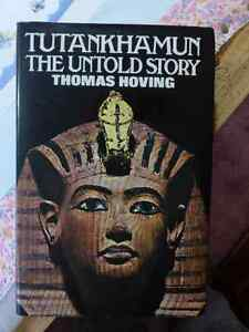 Tutankhamun: The Untold Story by Thomas Hoving