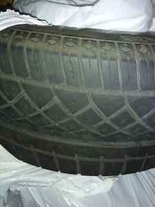 Continental Extreme DWS 215/45/17 used (two)