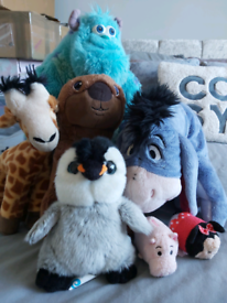 Stuffed toys - Disney and others