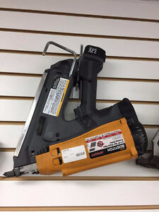 "Bostitch 3.5"" Gas Paper-Tape Framing Nailer for sale!"