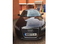 ***FOR SALE 2012 (61 REG ) AUDI A3 1.6 TDI S LINE SPORTBACK 5 DOORS MANUAL CLEAN INSIDE AND OUT ***