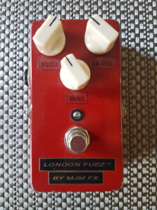 MJM London Fuzz early red version with bias control