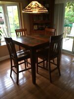 Pub Style Table and Chair Set