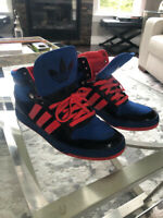 Men's high top Adidas sneakers