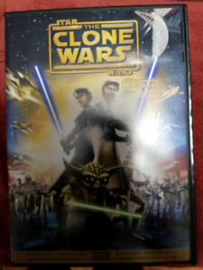 Star Wars The Clone Wars movie DVD