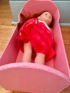 Antique Doll Cradle