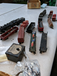 S scale model trains