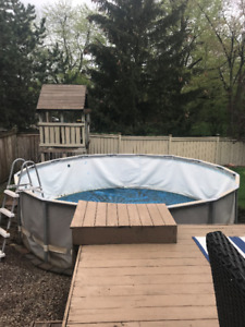 Intex Ultra Frame Pool Round  16' x 4'