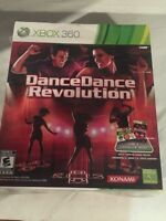 XBox 360 Dance Dance revolution game and controller
