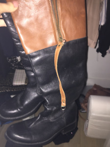 Excellent condition worn once like brand new steve madden boots
