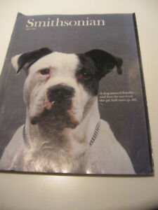 1992 ISSUE of the SMITHSONIAN MAGAZINE with the STORY of BANDIT