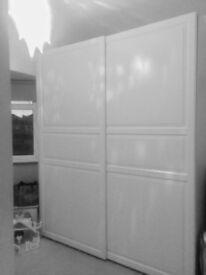 Pax double Wardrobe with Sliding doors