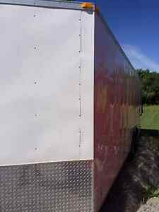 "2012 23' x 8' 6"" Enclosed cargo trailer"