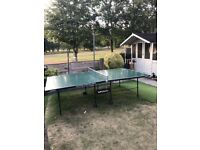 Butterfly outdoor table tennis table foldable