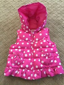 Gymboree Girl's Vest 2t-3t
