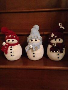 Homemade Xmas snowman