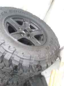 Tires+Rims - Toyo Open Country M/T 295/70/17