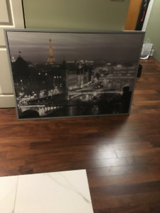 IKEA PARIS PAINTING [MINT CONDITION[