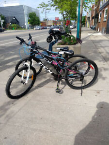 Mountain Bicycle almost new
