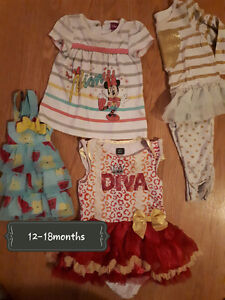 ~* Girl clothes 12-18months *~
