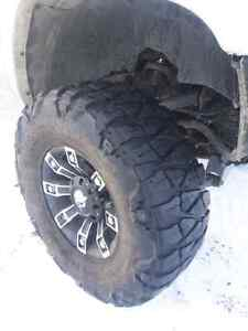 Rims and tires (4)    8x6.5 pattern