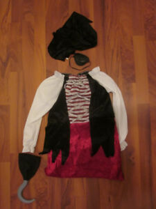 Costume de pirate - 3-4 ans