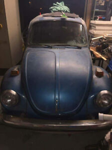 1973 Volks Volkswagen Super Beetle Project