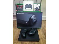 Xbox One X 4K 1TB + 2 gamepad + 2 games