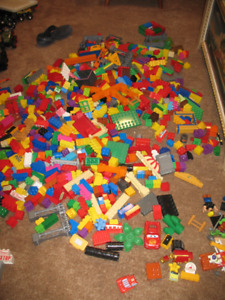 Large Collection of Mega Bloks