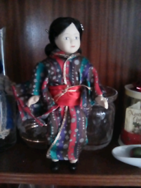 Porcelain Chinese doll