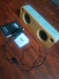 Marley Bluetooth Speaker - mint condition.