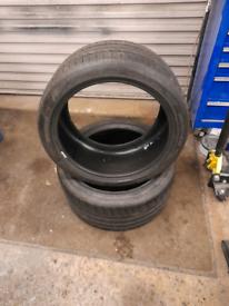 Michelin pilot sport tyres 265/35zr18 Porsche