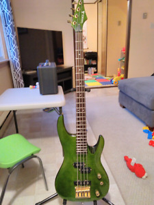 Complete bass guitar package