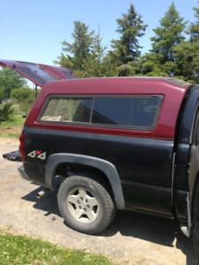 Truck cap camper contractors  6.5 box
