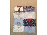 0-3 baby boys sleepsuits/rompers
