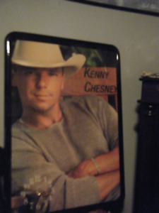 Country Singer Kenny Chesney Clock