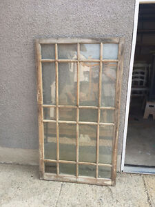 Old window frames & doors for sale