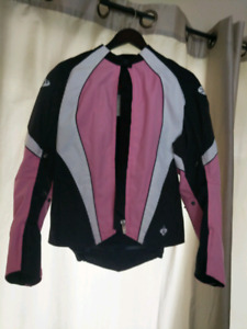 Like new womens motorcycle jacket