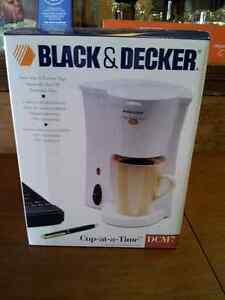 NEW Cup-at-a-time Black and Decker