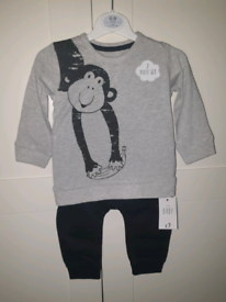 6-9 Month Baby Outfit (NEW)